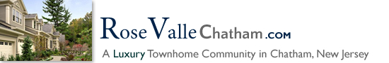 RoseValle in Chatham Twp NJ Morris County Chatham Twp New Jersey MLS Search Real Estate Listings Homes For Sale Townhomes Townhouse Condos   RoseVale   Rose Valle
